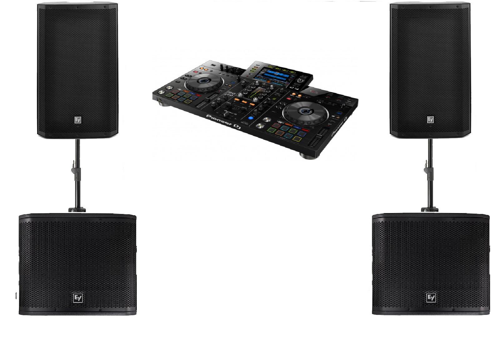 DJ set F