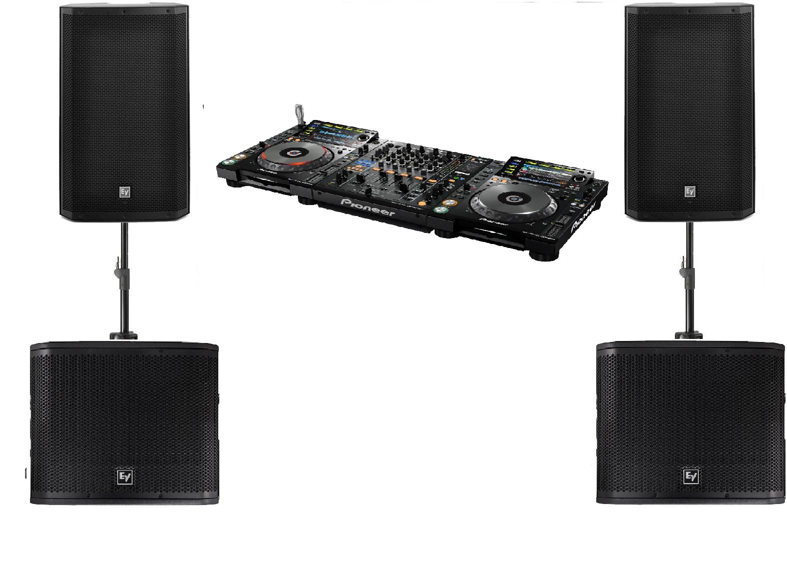 DJ Set met geluid