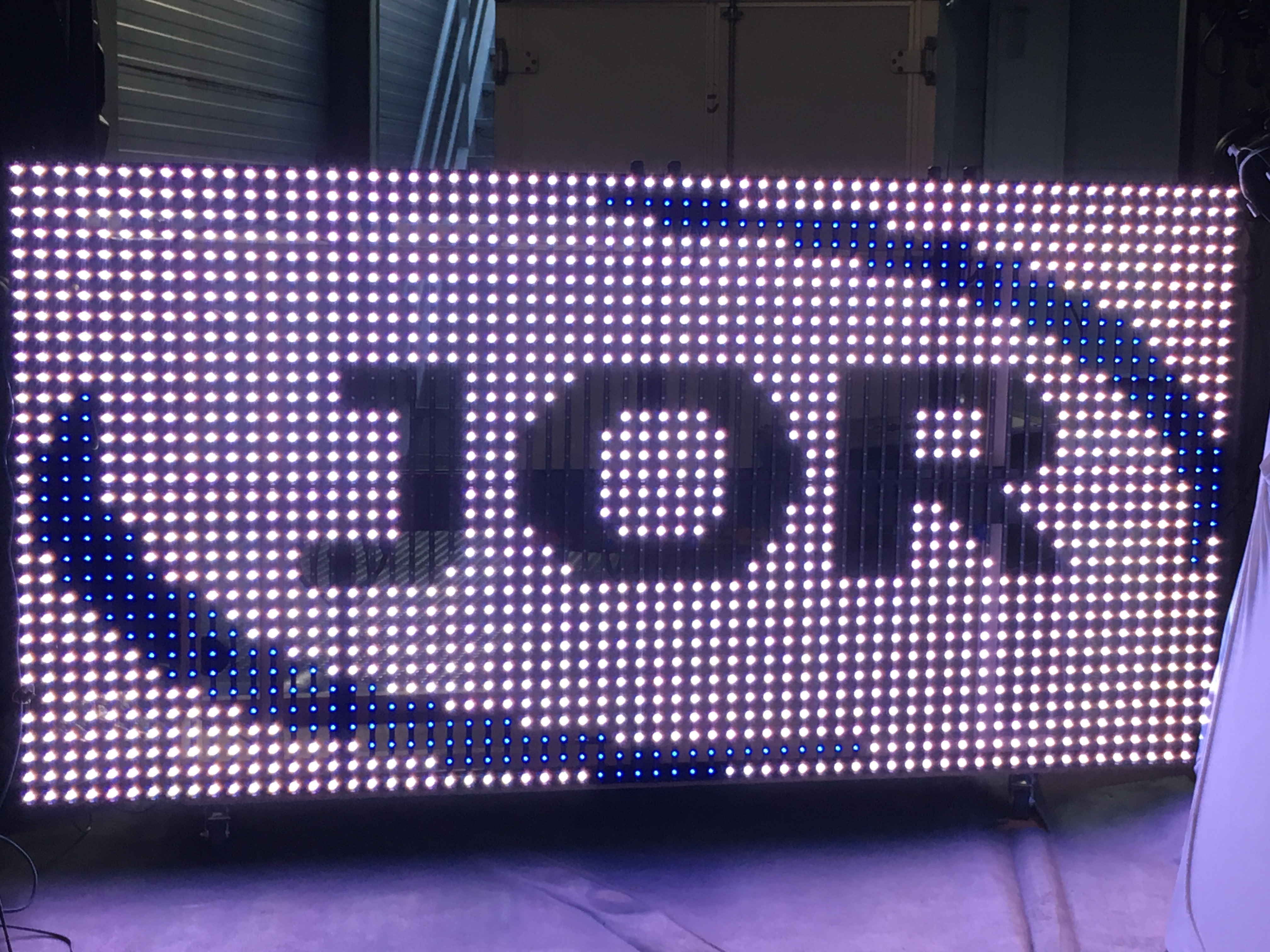 DJ Booth LED pixel