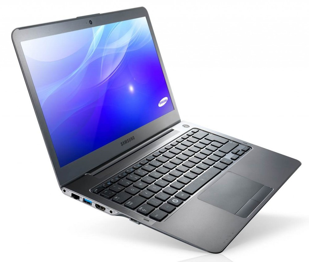 Laptop voorzien van Powerpoint