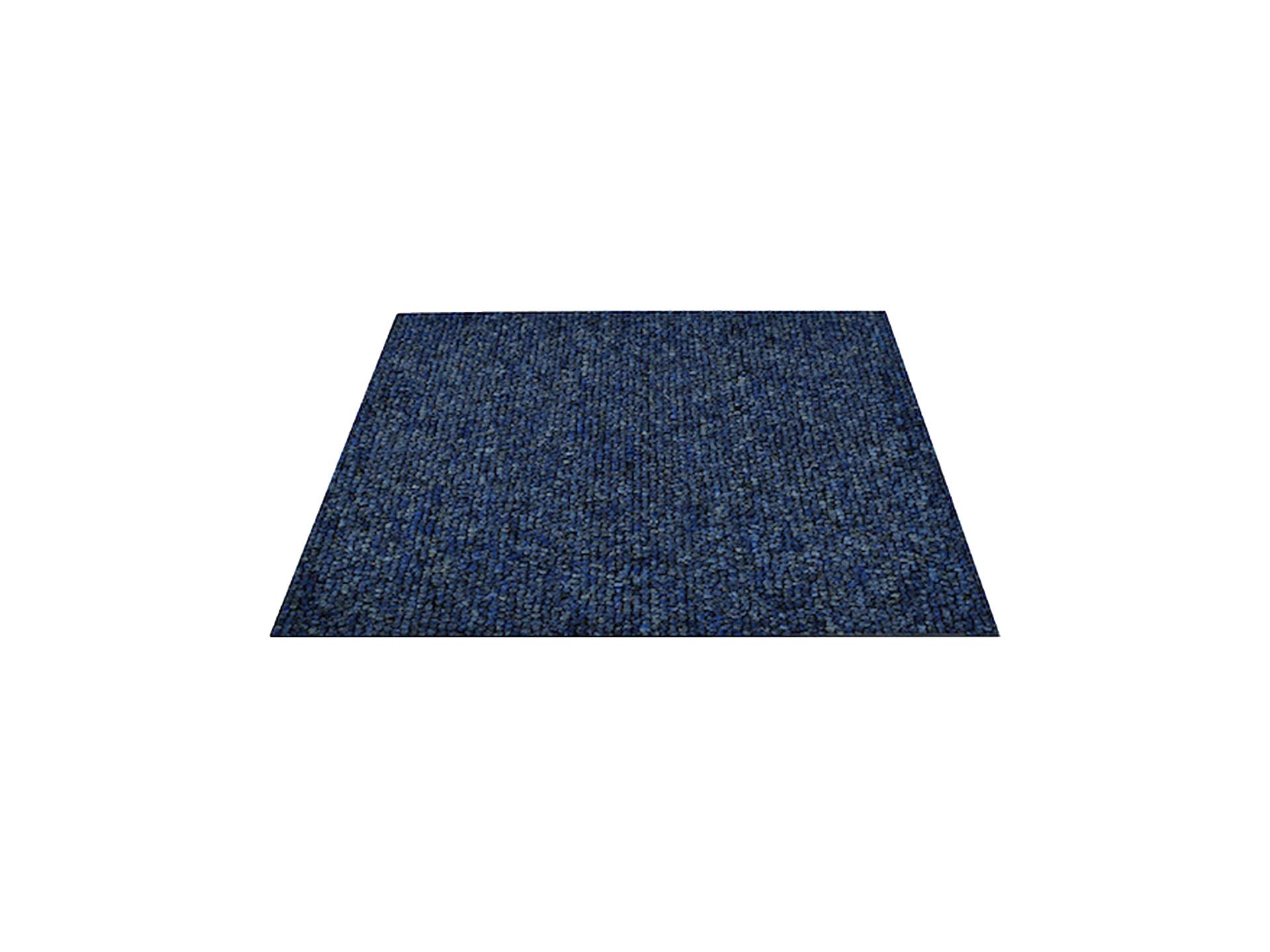 tapijttegel 50x 50 CM blauw